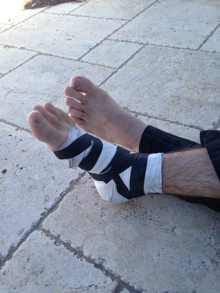 Barefoot Leah Luv Porn i broke my fucking foot - james deen blog