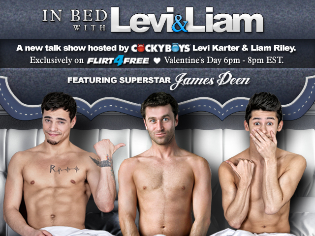 Levi and liam suck dick