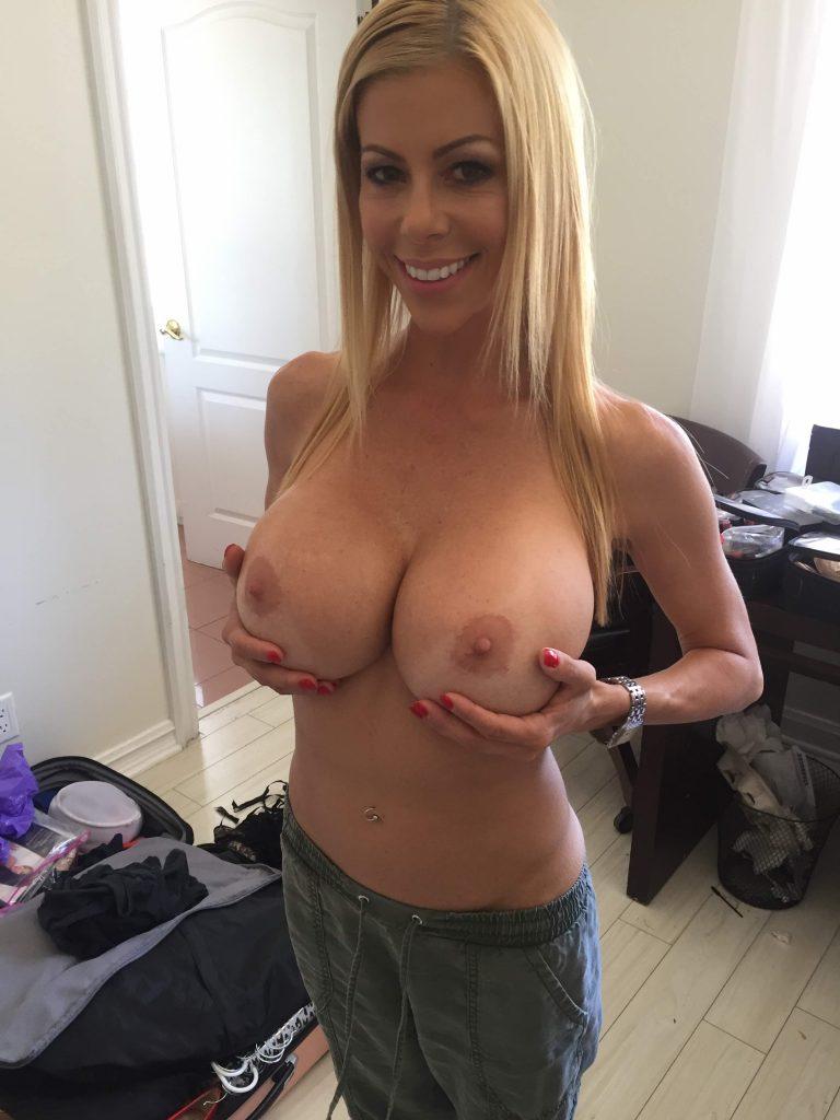 Blonde Milf Huge Tits